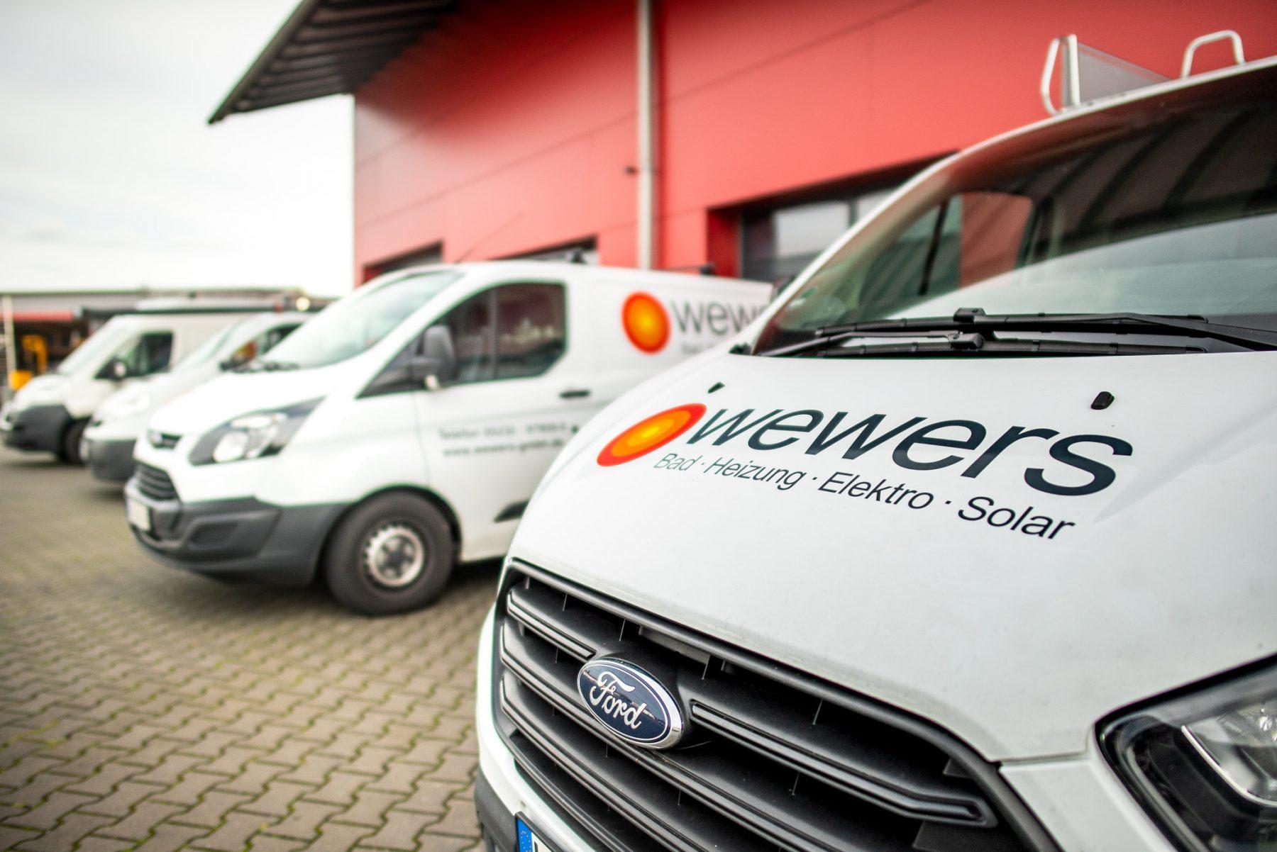 Fahrzeuge der wewers GmbH