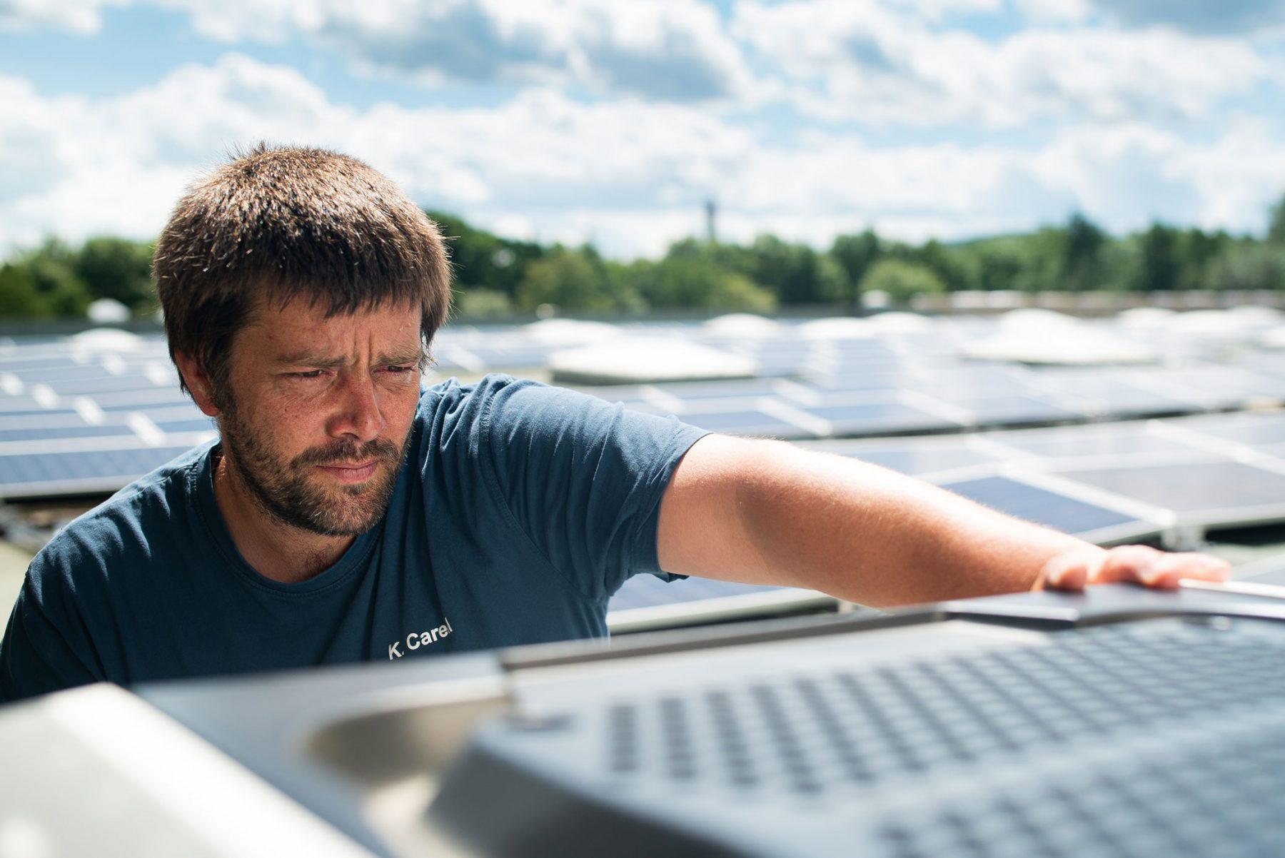 Prüfung einer Photovoltaik-Anlage