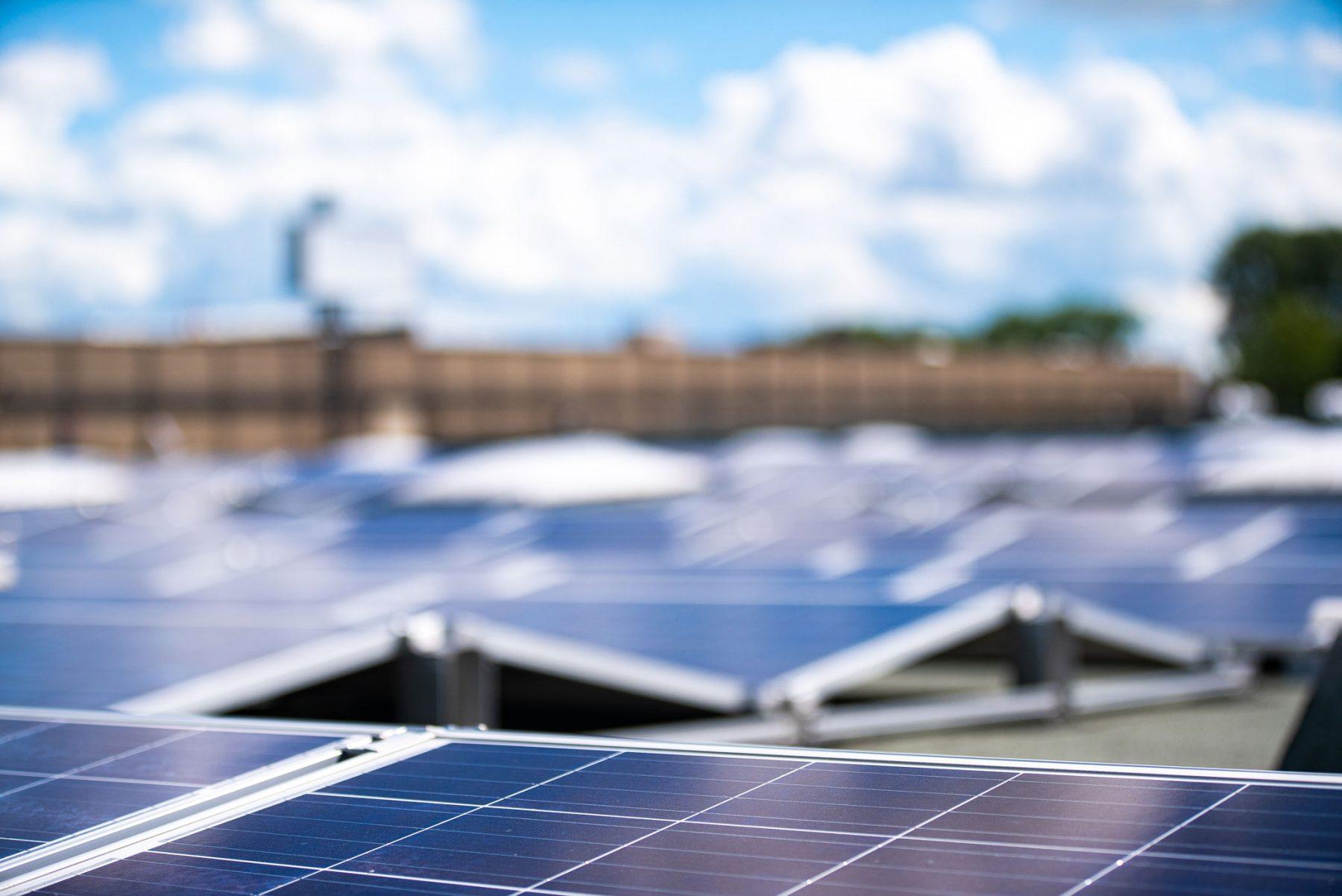 Photovoltaik-Anlage in Bielefeld
